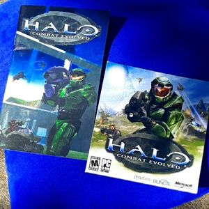Halo Combat Evolved for PC w/ booklet